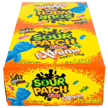 Sour Patch Kids Extreme?ÿ(1.8 oz., 24 pks.)