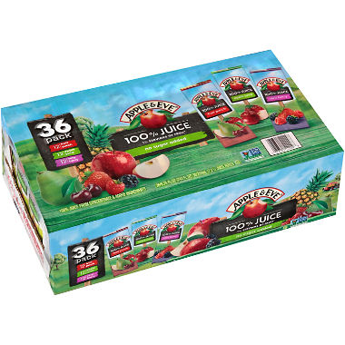 Apple & Eve Juice Variety Pack (6.75 oz., 36 pk.)