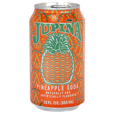 Jupina Pineapple Soda (12 oz. cans, 24 pk.)