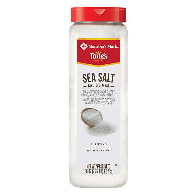 Member's Mark Sea Salt (36 oz.)
