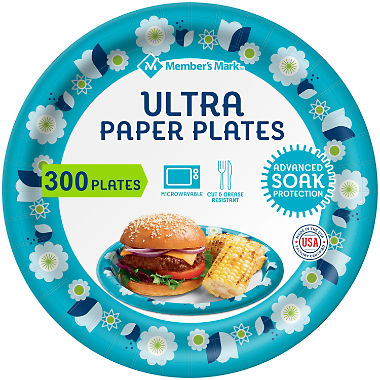 "Member's Mark Ultra Plate, 8-1/2"" (300 ct.)"