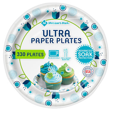 "Member's Mark Ultra Plate, 6-7/8"" (330 ct.)"
