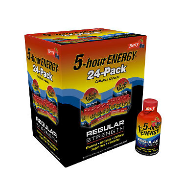 5-Hour Energy Shot, Berry (1.93 oz. ea., 24 pk.)