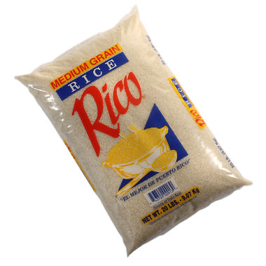 Rico Medium Grain Rice (20 lb.)