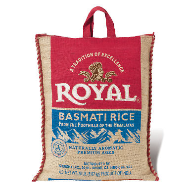 Royal Basmati Rice (20 lbs.)