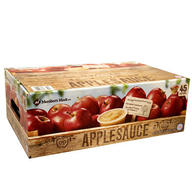 Members Mark Applesauce (4 oz., 45 ct.)