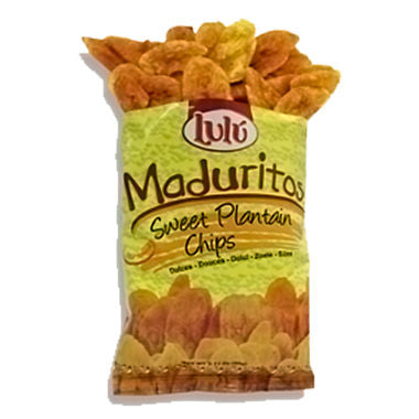 Lulu Sweet Plantain Chips (2.5 oz., 30 ct.)