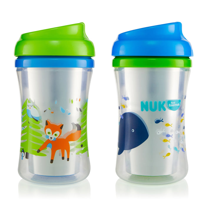 First Essentials by NUK™ Insulated Cup-like Rim Sippy Cup, 9 oz., 2-Pack