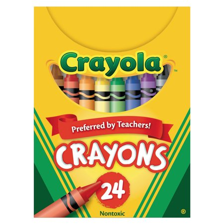Crayola Classic Color Crayons, Tuck Box, 24 Colors