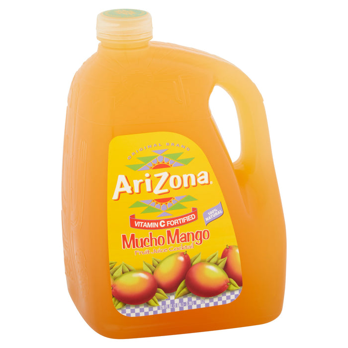 AriZona Kiwi Mucho Mango Juice Cocktail, 128 Fl. Oz.