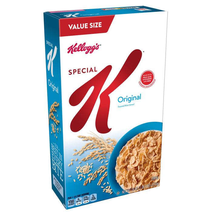 Kellogg's Special K Breakfast Cereal Value Size 18 oz