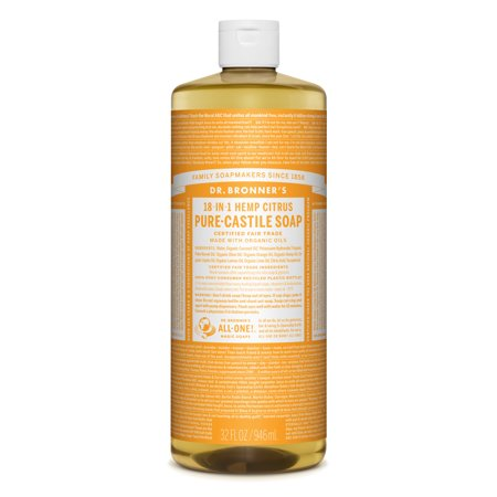 Dr. Bronner's Citrus Orange Pure-Castile Liquid Soap - 32 oz