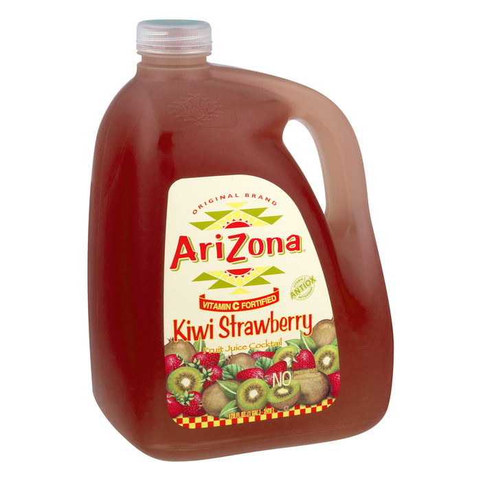 AriZona Kiwi Strawberry Juice Cocktail, 128 Fl. Oz.