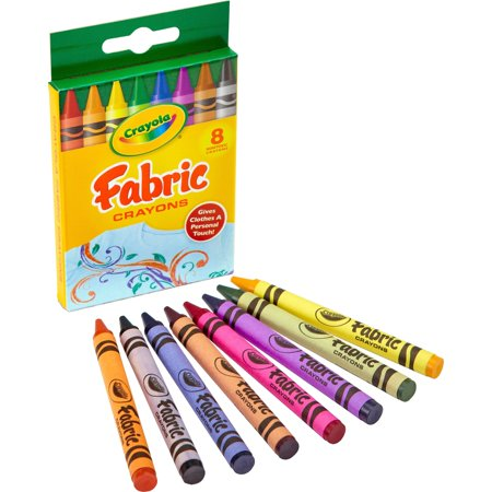 "Crayola Crayola Fabric Crayon - 3.6"" Length - 0.3"" Diameter - 1   Pack"