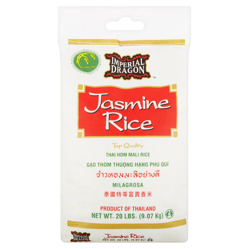 Imperial Dragon Jasmine Rice, 20 lbs