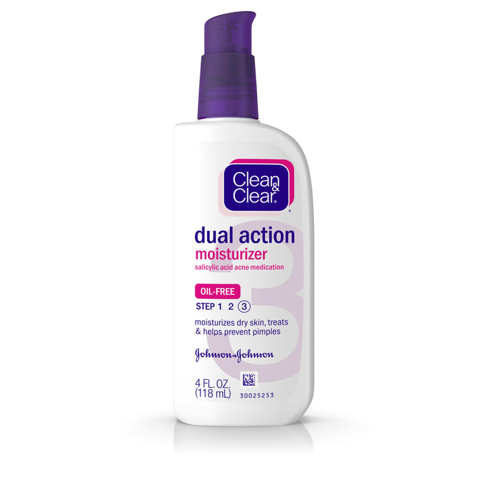 Clean & Clear Essentials Dual Action Facial Moisturizer, 4 fl. oz