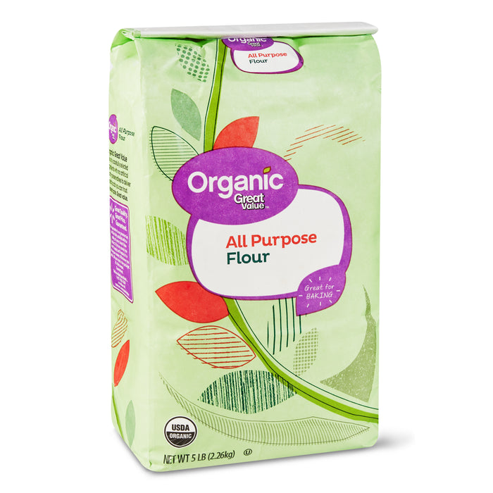 Great Value Organic All Purpose Flour, 5 lb