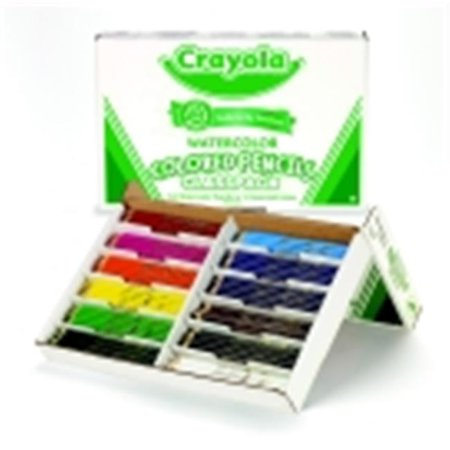 Crayola Non-Toxic Watercolor Colored Pencil, Pack - 240