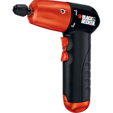 "BLACK+DECKER AD600 6V Alkaline Cordless 1/4"" Hex Screwdriver"