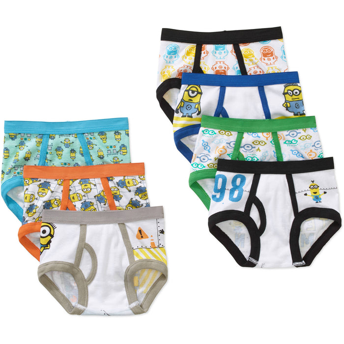 Despicable Me Brief Underwear, 7pk (Toddler Boys)
