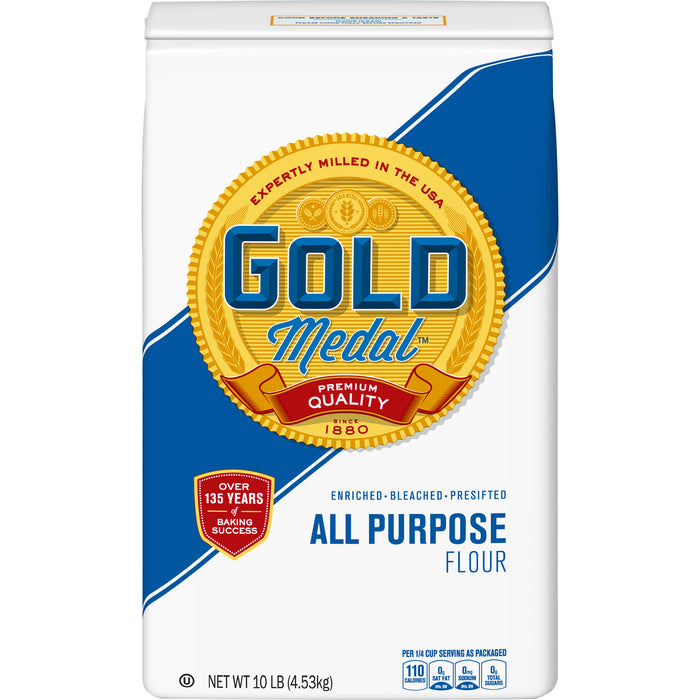 Gold Medal All-Purpose Flour, 10 Pound Bag