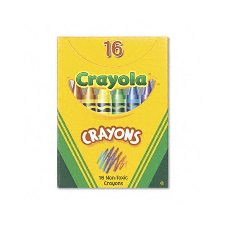Crayola Classic Color Pack Crayons (Tuck Box, 16 Colors Box)