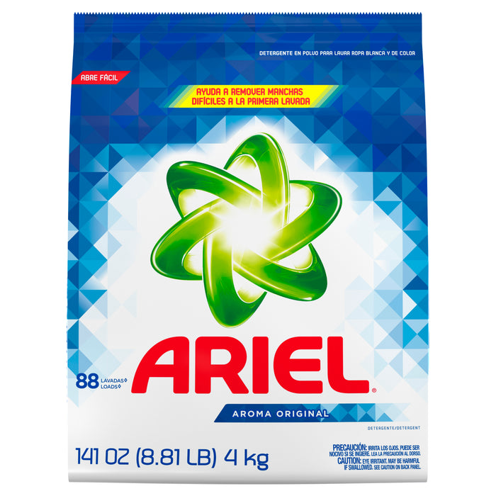 Ariel Original, Powder Laundry Detergent, 141 Oz, 88 loads