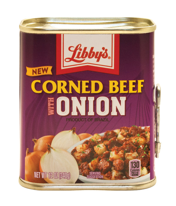 Libby's Corned Beef with Onion, 12 Ounce