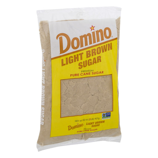 Domino Light Brown Cane Sugar, 2 Lb