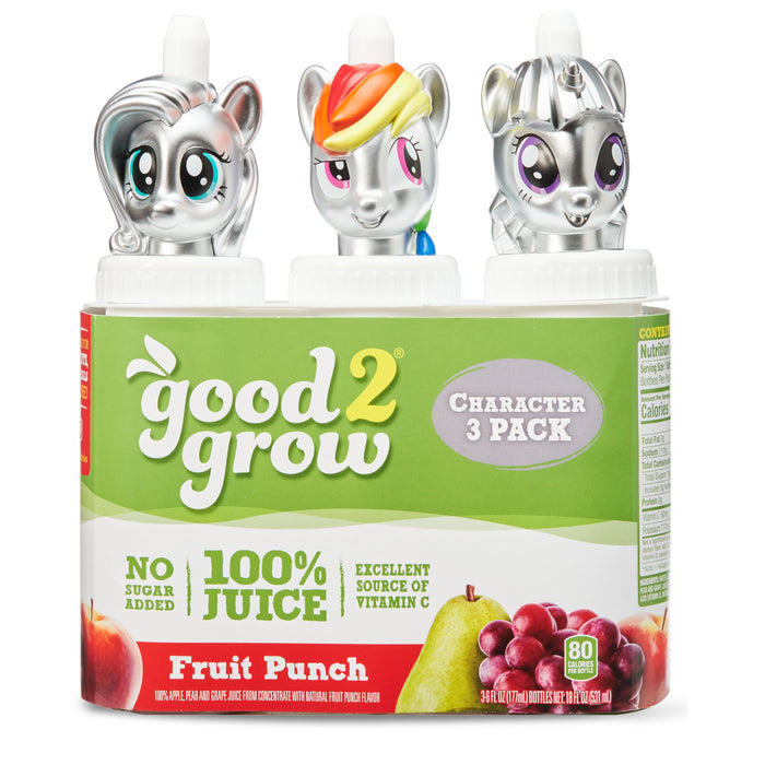 In Zone Good2grow 6oz Fruit Punch 3pk