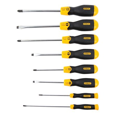 Stanley 91-541 8pc Cushion Grip Screwdriver Set