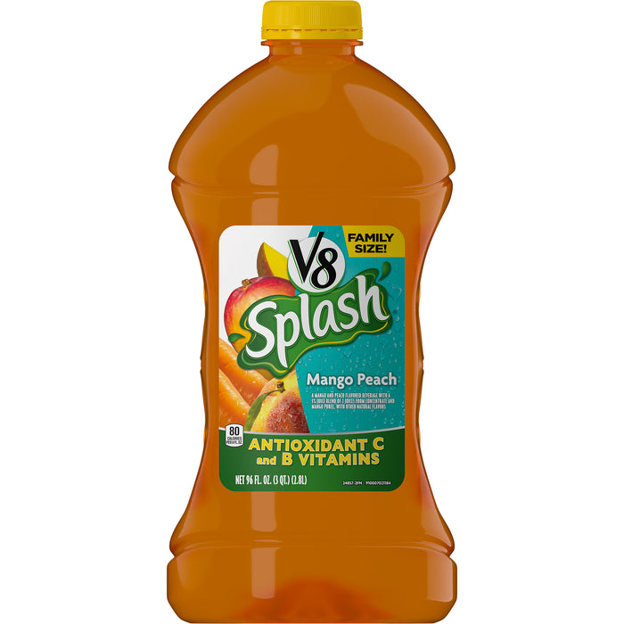 V8 Splash Mango Peach, 96 oz.