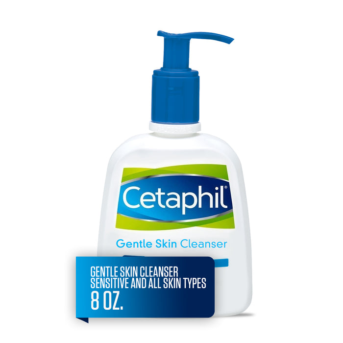 Cetaphil Gentle Skin Cleanser, Face Wash For Sensitive and All Skin Types, 8 Oz