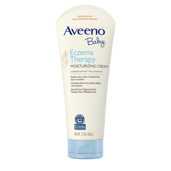 Aveeno Baby Eczema Therapy Moisturizing Cream with Natural Oatmeal,