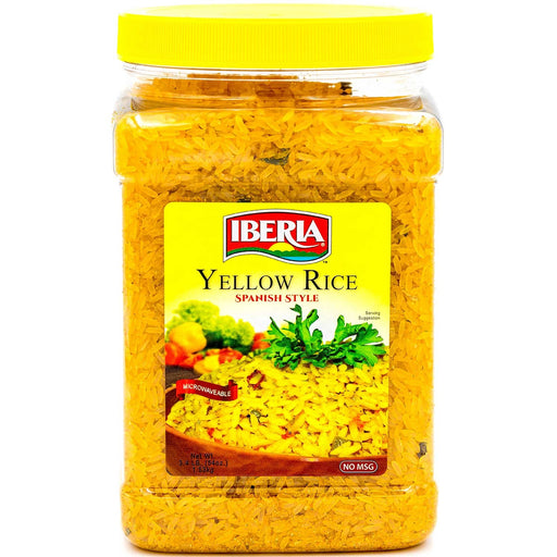 Iberia Yellow Rice, Spanish Style, 3.4 Lb