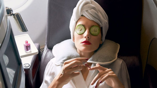 How to make your next flight feel like a day spa