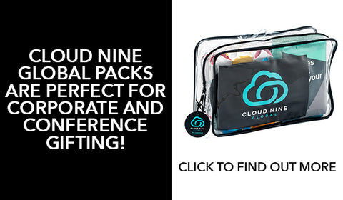 Travel packs for conference gifting and travel gifting