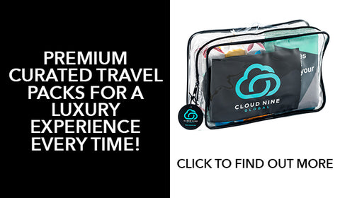 Luxury travel packs to help fight jet lag and guarantee comfortable and happy travel