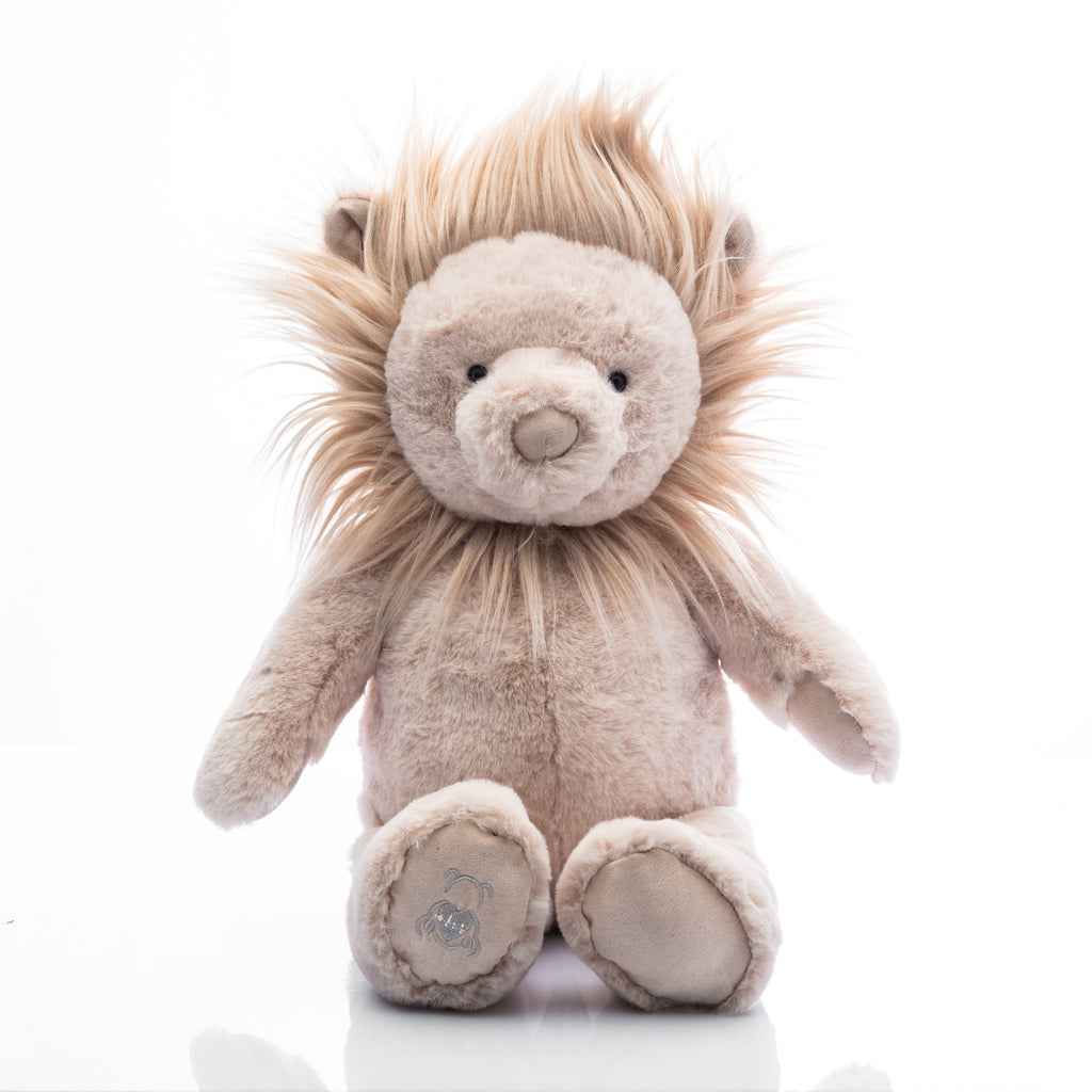 Baby Beats Plush Lion