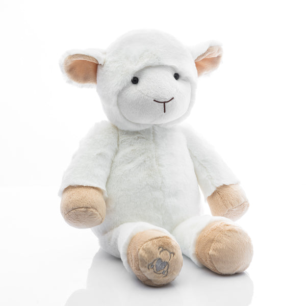 Baby Beats Plush Lamb