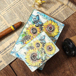 Embossed Sunflower Journal