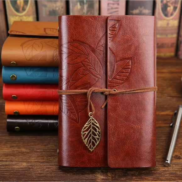 Vintage-Style Traveler's Journal