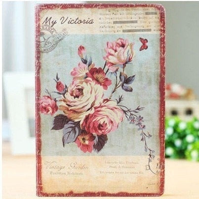 Retro Floral Gratitude Journal