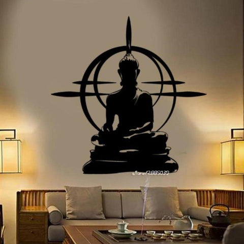 Wall Decal - Sitting Buddha