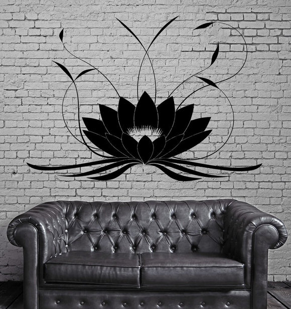 Wall Decal - Lotus Flower