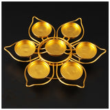 Lotus Shape Candle Holder