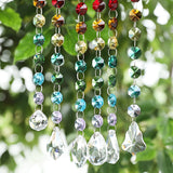 Chakra Crystal Rainbow Maker Suncatchers - 6 piece set