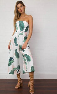 Kylie Floral Jumpsuit,Playsuit,- Vive Collections - Online boutique featuring dresses, skirts, tops, playsuits, pants