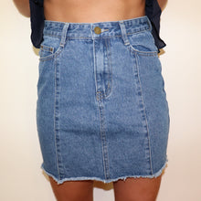 Fray Denim Skirt,Bottoms,- Vive Collections - Online boutique featuring dresses, skirts, tops, playsuits, pants