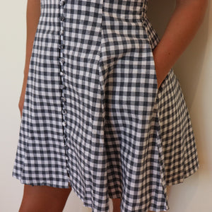 Gingham Mini Dress,Dress,- Vive Collections - Online boutique featuring dresses, skirts, tops, playsuits, pants